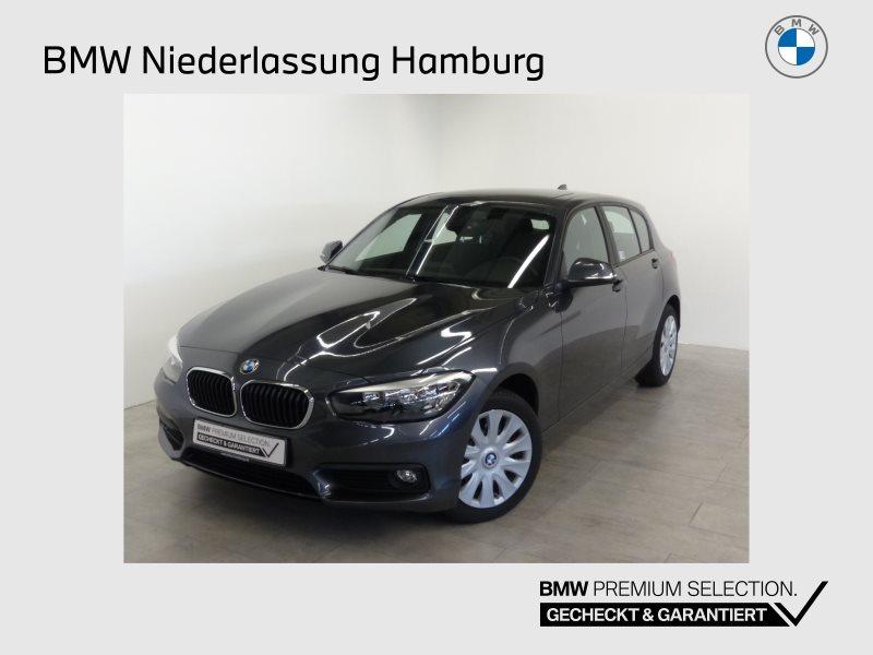 BMW 118i 5-Türer Advantage GSD Navi Bus. Tempomat, Jahr 2017, Benzin