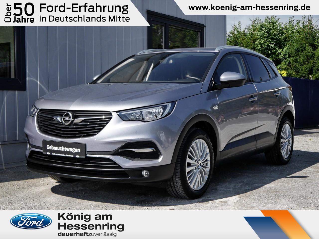 Opel Grandland X Edition 1.2 Turbo IntelliLink+ Nebel, Jahr 2017, Benzin