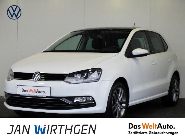 Volkswagen Polo 1.2 TSI Allstar*LED*PANO*TEMPOMAT*, Jahr 2016, Benzin