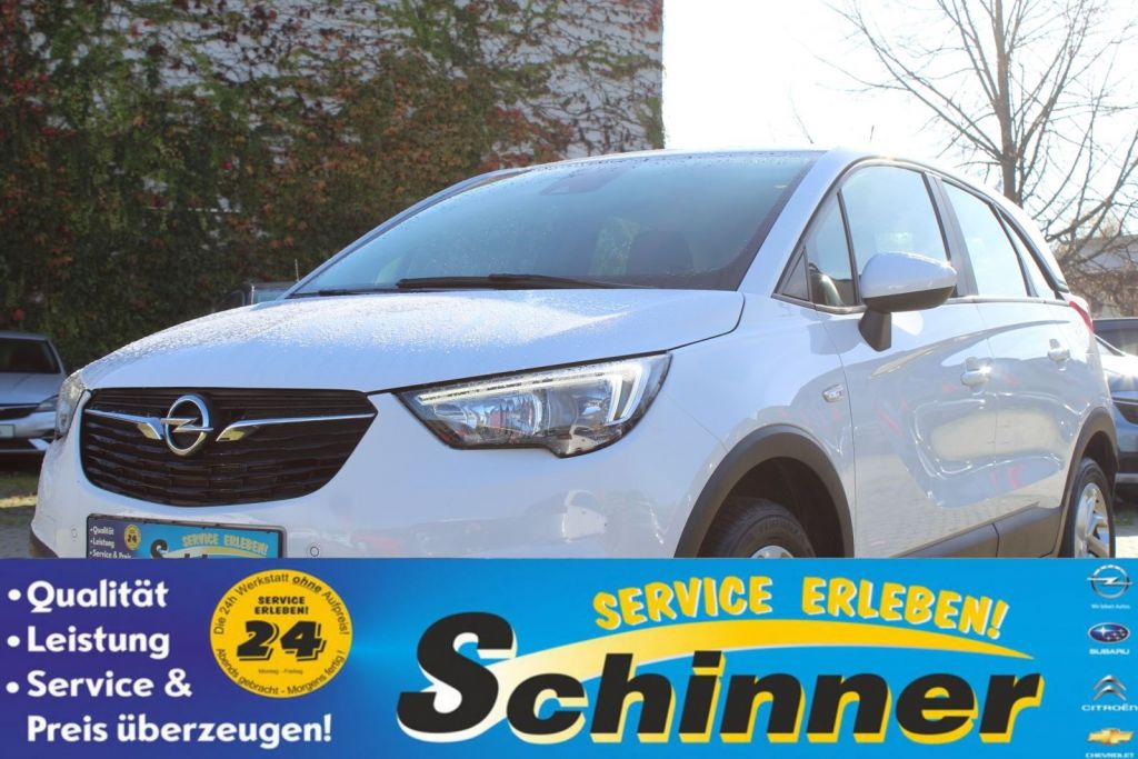 Opel Crossland X 1.2 ECOTEC Start/Stop Edition, Jahr 2017, Benzin