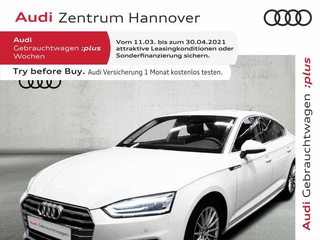 Audi A5 Sportback Sport 40 TFSI Leder Navi DAB Xenon, Jahr 2020, Benzin