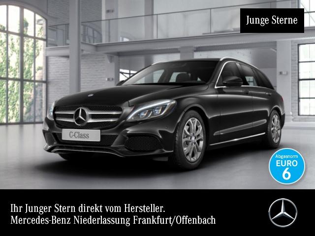 Mercedes-Benz C 180 T Avantgarde Pano ILS LED AHK Navi SpurPak, Jahr 2016, Benzin