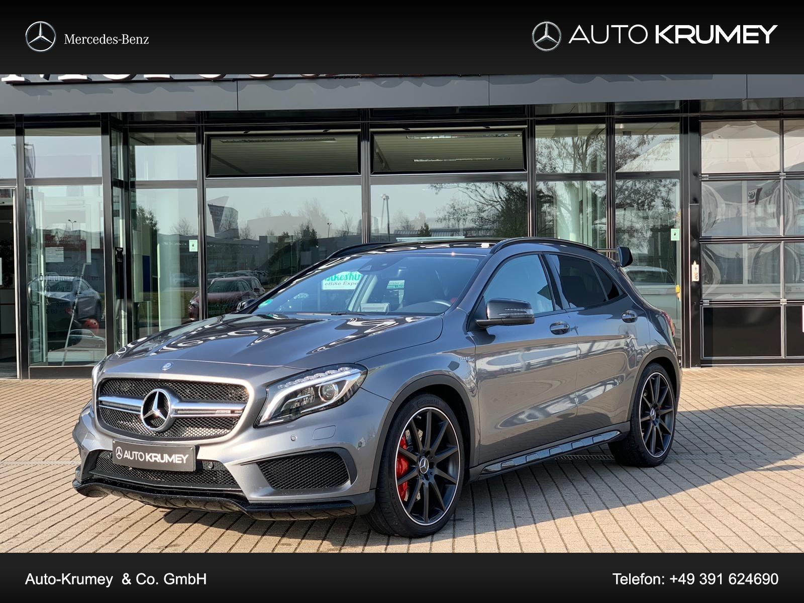 Mercedes-Benz GLA 45 AMG 4Matic COMAND APS,Night-Paket Autom., Jahr 2015, Benzin