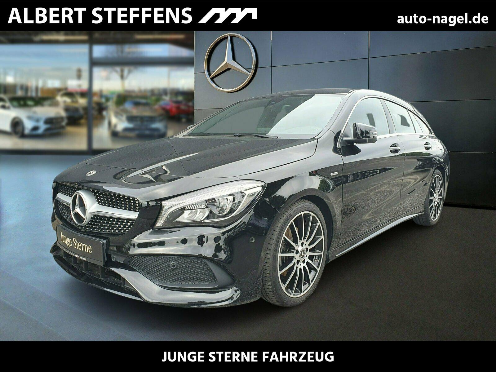 Mercedes-Benz CLA 180 Shooting Brake AMG Peak Edition+LED+Navi, Jahr 2017, Benzin