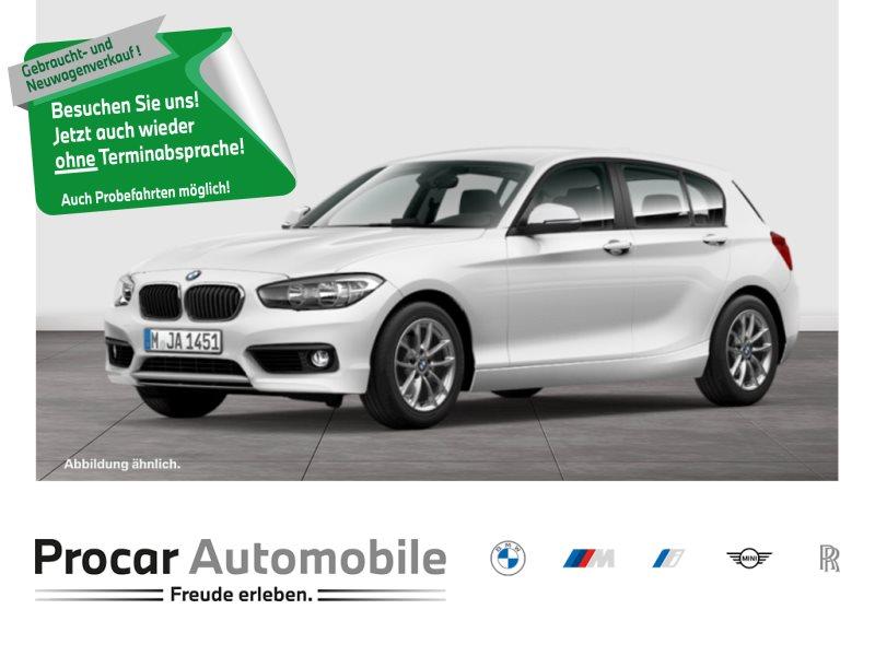 BMW 116i 5-Tuerer, Tempom, Klimaaut. Shz, Fina ab0,80%, Jahr 2016, Benzin
