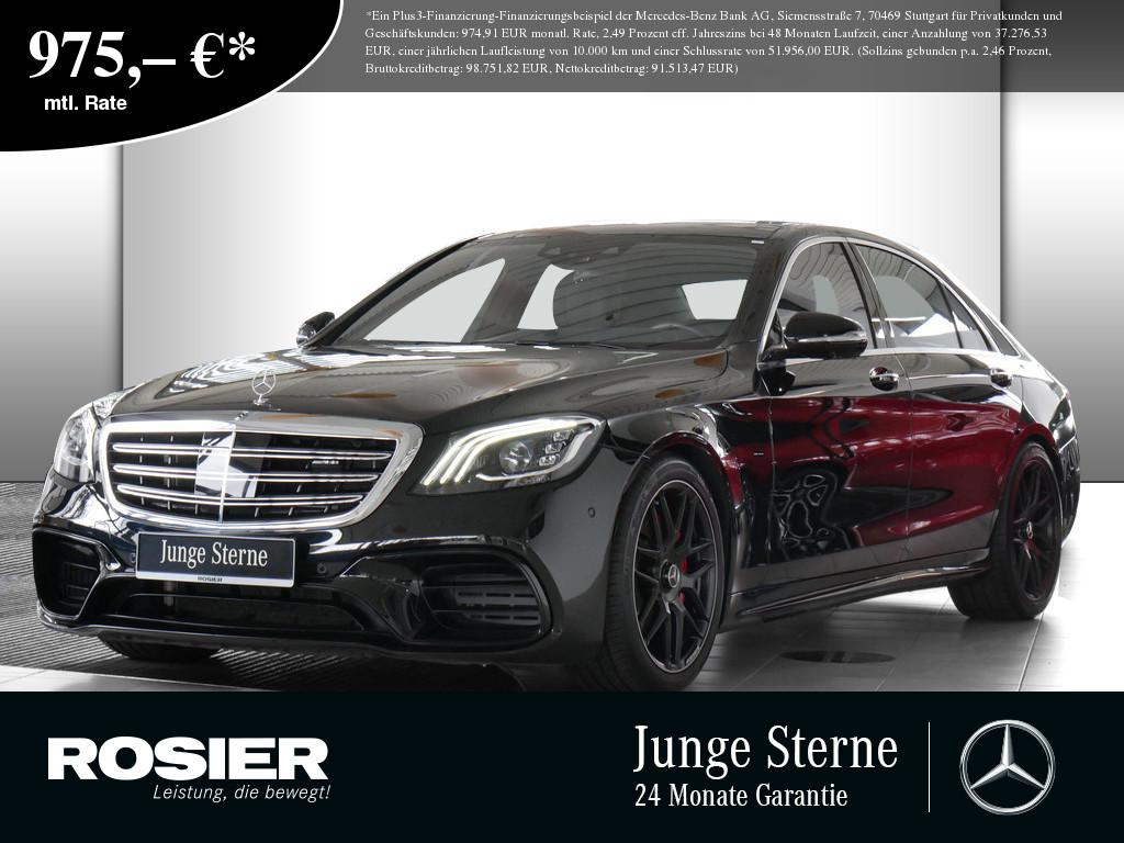 Mercedes-Benz S 63 AMG 4M+ L, Jahr 2020, Benzin