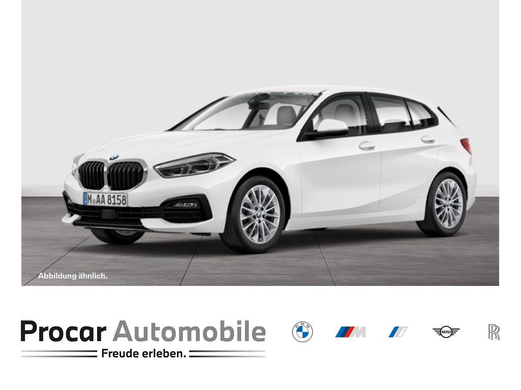 BMW 120i AUTOM.+ADVANTAGE+DAB+LED+WLAN+PDC+SHZ.+TEMPOMAT+, Jahr 2021, Benzin