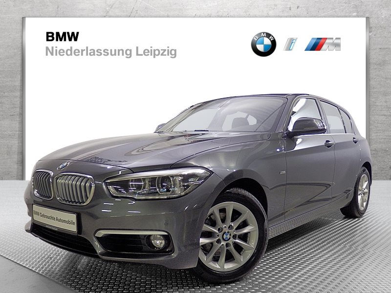 BMW 118d 5-Türer EURO6 Urban Line HK HiFi LED Navi Bus. PDC, Jahr 2017, Diesel