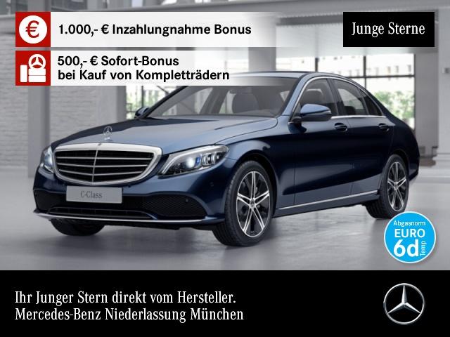 mercedes-benz c 300 avantgarde exclusive widescreen multibeam, jahr 2019, benzin