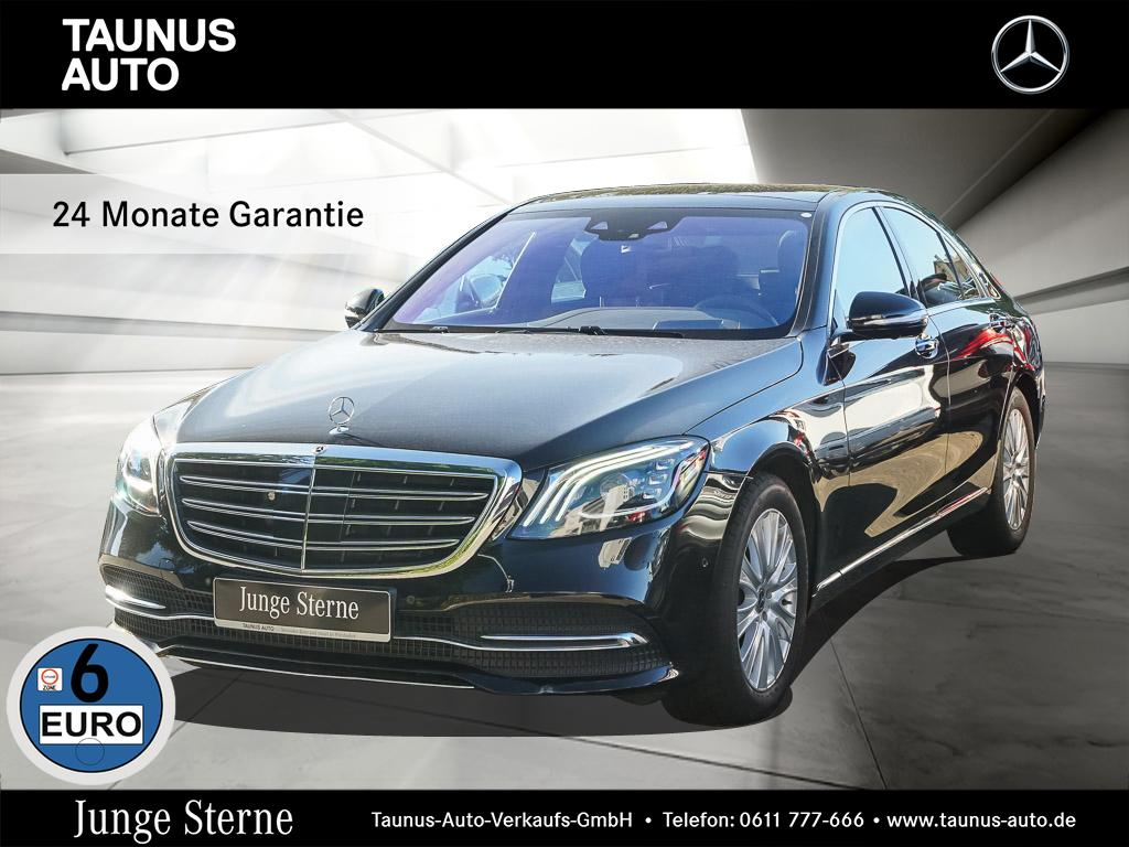 Mercedes-Benz S 450 4M PANORAMA HUD AKTIV-SITZE UPE:139.000,-, Jahr 2018, petrol