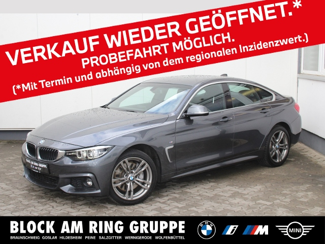 BMW 440i xDrive Gran Coupé MSport RFK Harman/Kardon, Jahr 2018, Benzin