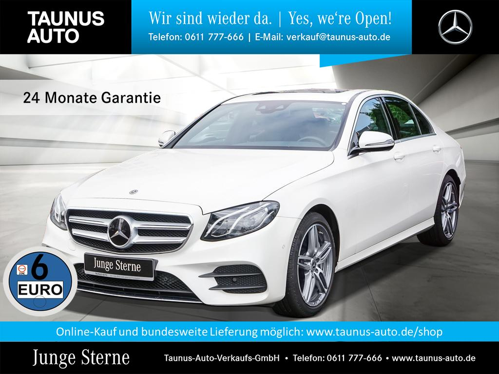 Mercedes-Benz E 450 4M AMG-LINE COMAND WIDE SHD DISTRONIC, Jahr 2018, Benzin
