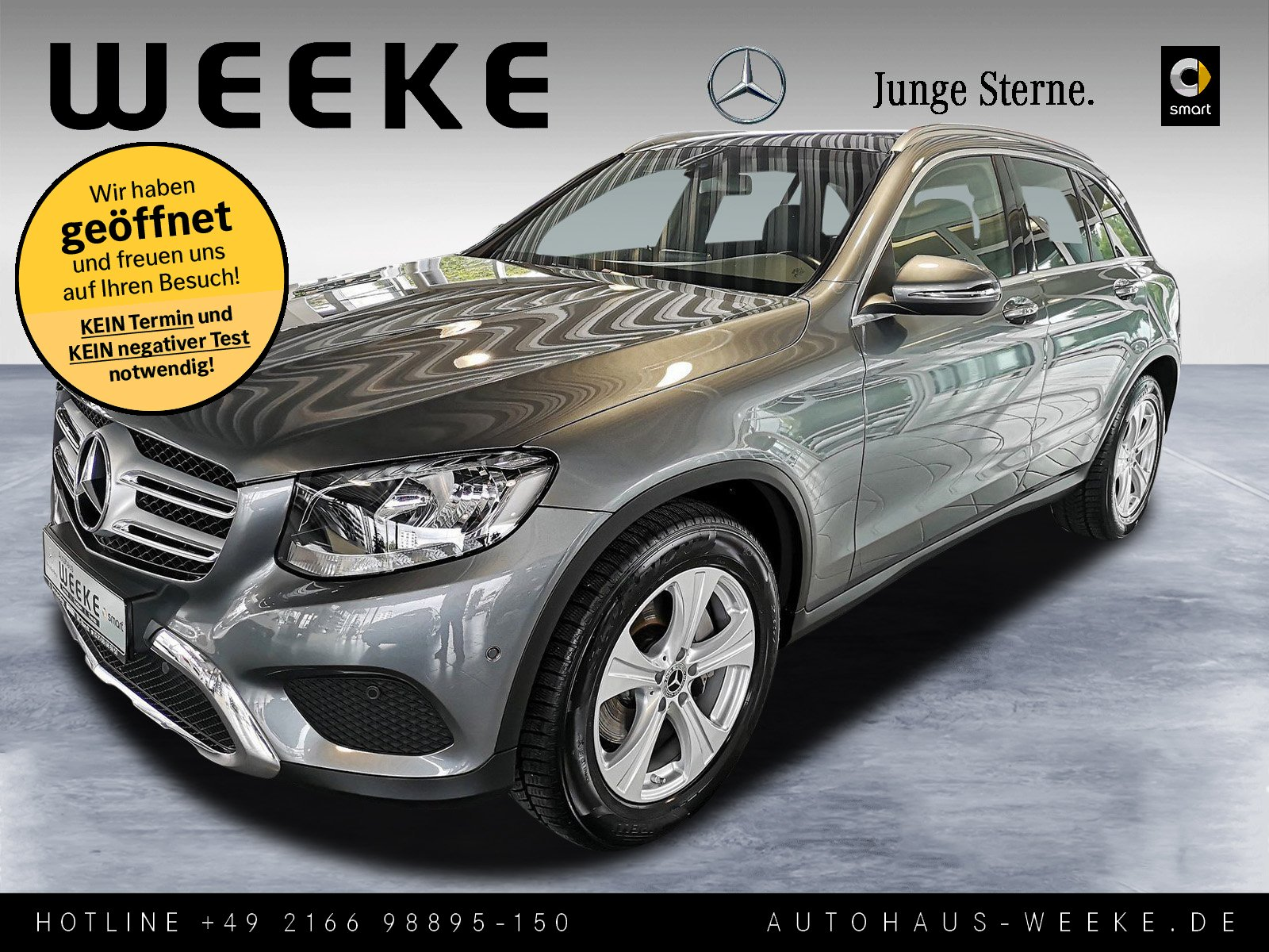 Mercedes-Benz GLC 250 d 4M EXCLUSIVE+BURMESTER+AHK+KAMERA+PANO, Jahr 2017, Diesel