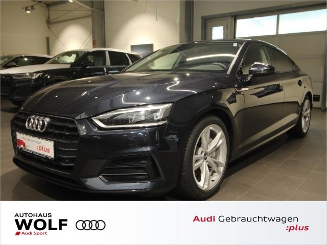 Audi A5 Sportback 2.0 TDI Sport S tronic AHK LED Navi, Jahr 2018, Diesel