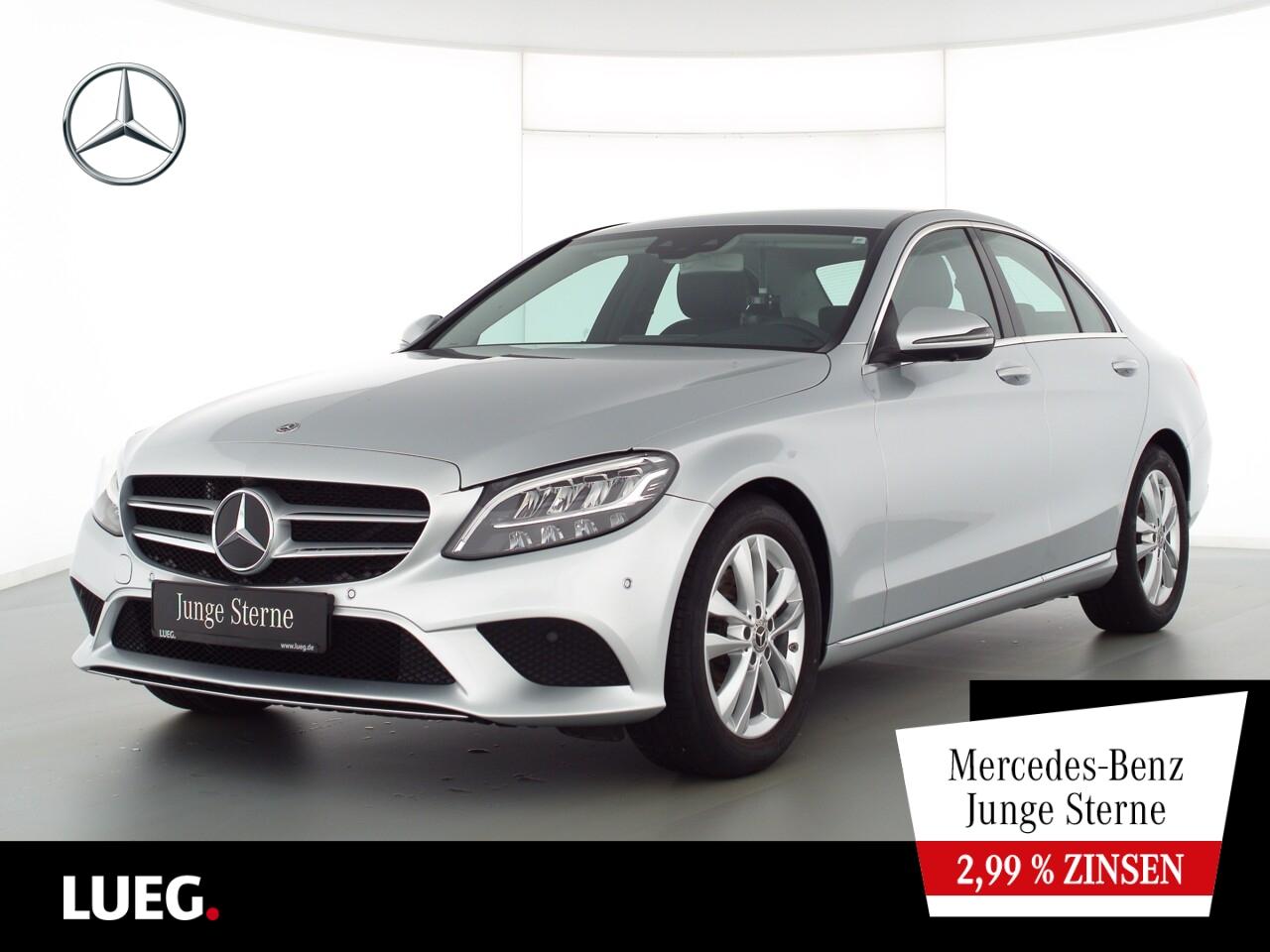 Mercedes-Benz C 200 d Avantgarde+COM+LED-HP+SpurP+HUD+CarP+360, Jahr 2019, Diesel