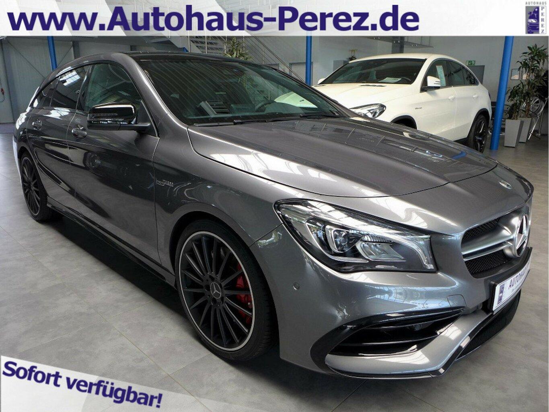 Mercedes-Benz CLA 45 AMG Shooting Brake 4M NIGHT-PANO SD-RFK, Jahr 2019, Benzin