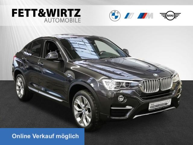BMW X4 xDrive20d xLine HUD Navi GSD Kamera HiFi, Jahr 2018, Diesel