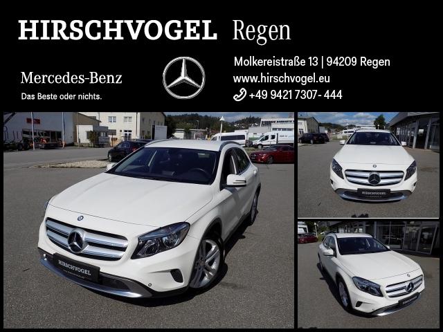 Mercedes-Benz GLA 250 4M Urban+AHK+Navi+7G-DCT+Komfortfahrwerk, Jahr 2014, Benzin