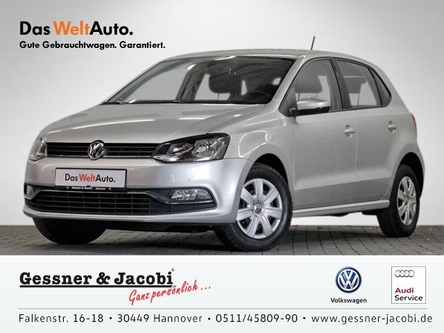 Volkswagen Polo 1.0 EU6 Comfortline PDC Klima Einparkhilfe, Jahr 2016, Benzin