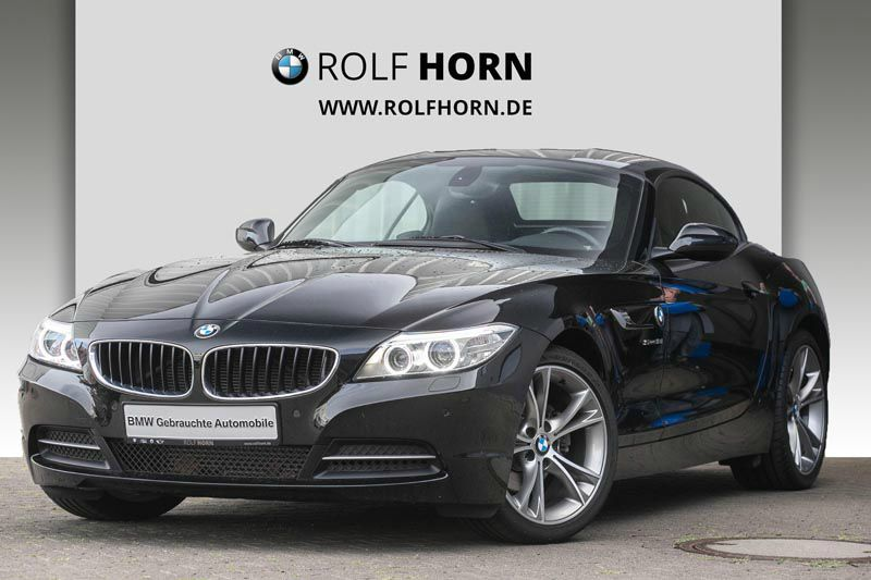 BMW Z4 sDrive18i Cabrio Sport Aut. Klima PDC Sitzhzg, Jahr 2014, petrol
