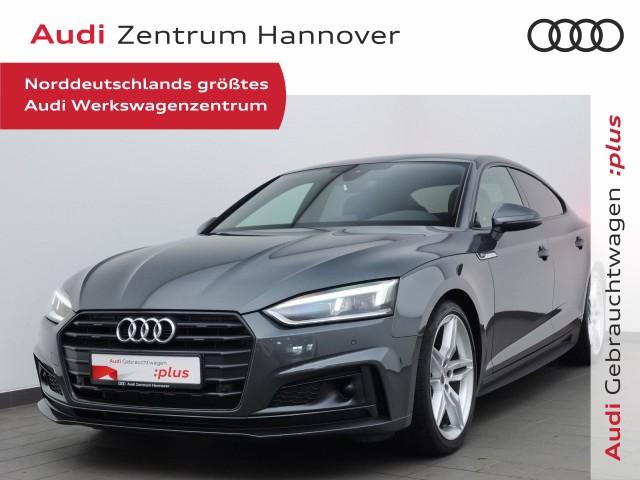 Audi A5 Sportback 2.0 TDI S-line Navi ACC LED Teilleder, Jahr 2018, Diesel