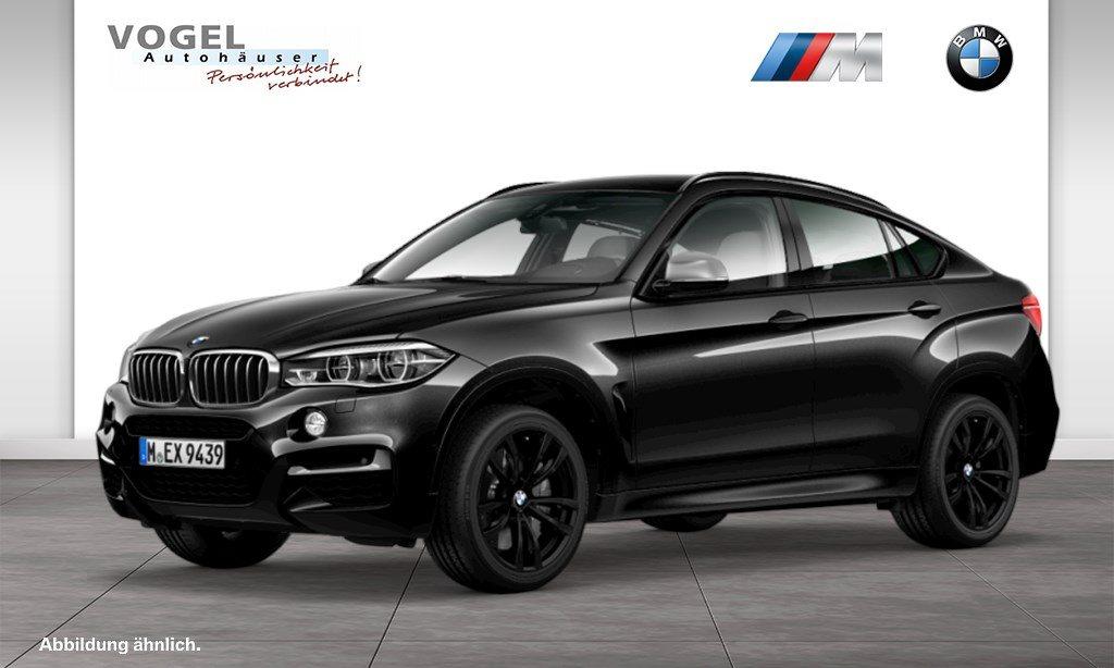 BMW X6 M50d M Sportpaket Euro 6 Navi Prof Head-Up Display RFK PDC Driving Assistant Plus Parkassistent Klima Shz LED AHK Sonnenschutzverglasung, Jahr 2018, Diesel