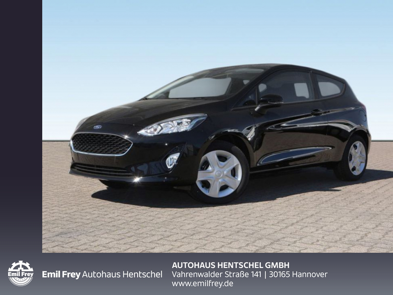 Ford Fiesta Cool und Connect Limousine, 3-türig 1,1 l 55 kW (75 PS), 5-Gang-Schaltgetriebe, Frontant, Jahr 2020, Benzin