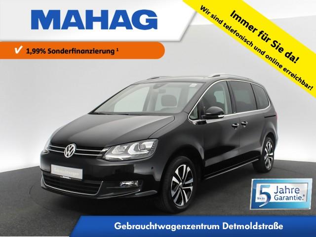 Volkswagen Sharan 2.0 TDI IQ.DRIVE 7-Sitzer Navi Xenon Standhz. eKlappe eTüren DAB+ ParkAssist FahrerAssist 17Zoll DSG, Jahr 2019, Diesel