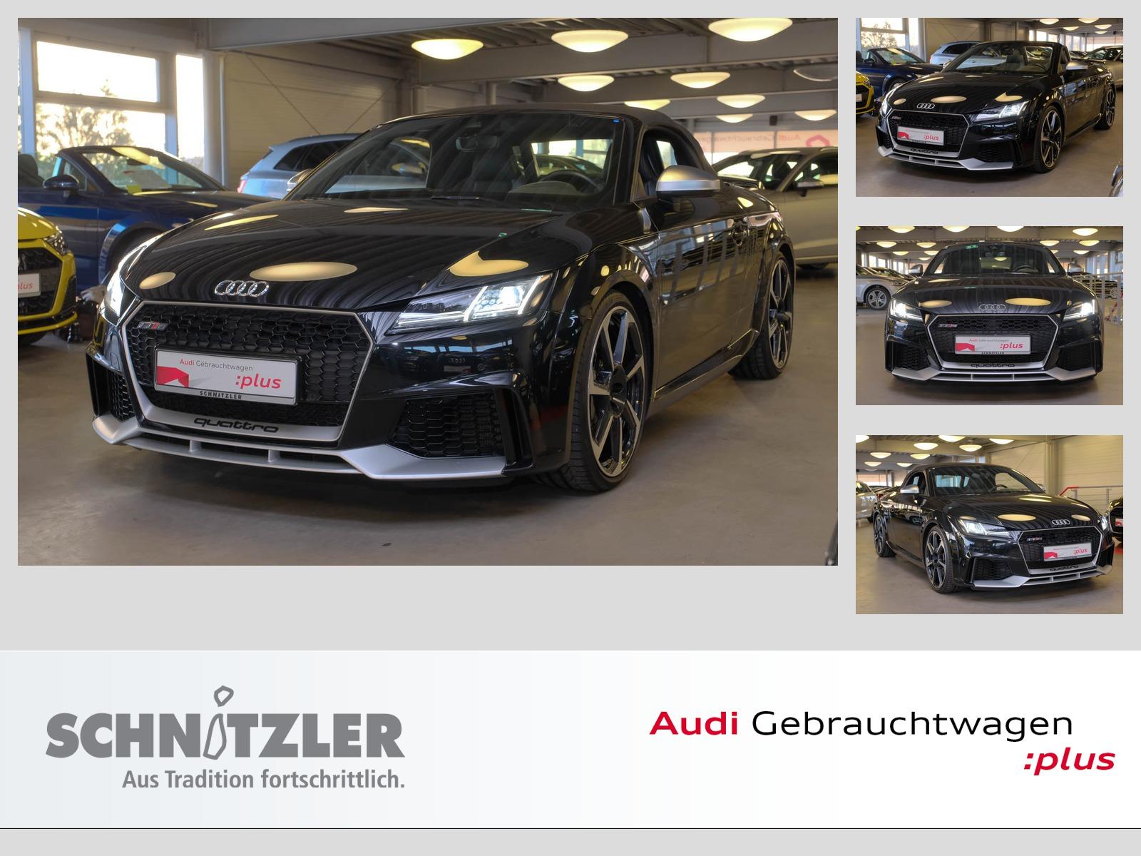 Audi TT RS Roadster 2.5 TFSI quattro S tronic LED/Navi/LEDER/+++, Jahr 2016, petrol