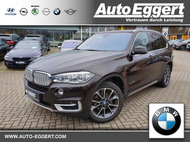BMW X5 xDrive30d Leder LED Navi StandHZG Keyless Kurvenlicht e-Sitze HUD ACC Rückfahrkam. Allrad, Jahr 2015, Diesel