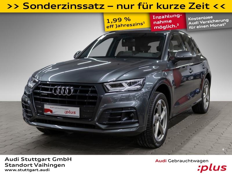 Audi Q5 2.0 TDI quattro S line ACC Pano LED 20'', Jahr 2017, Diesel