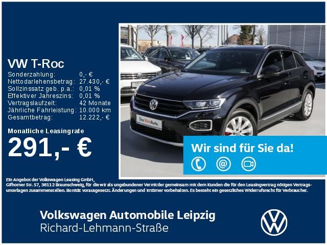 Volkswagen T-Roc Sport 1.5 TSI OPF *Navi*Rear View*LED*, Jahr 2020, Benzin