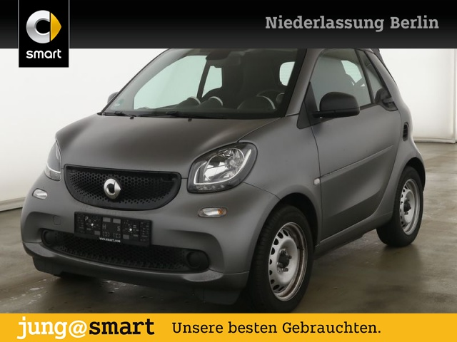 smart fortwo cabrio 66kW BRABUS tailor made DCT SHZ PDC, Jahr 2019, Benzin