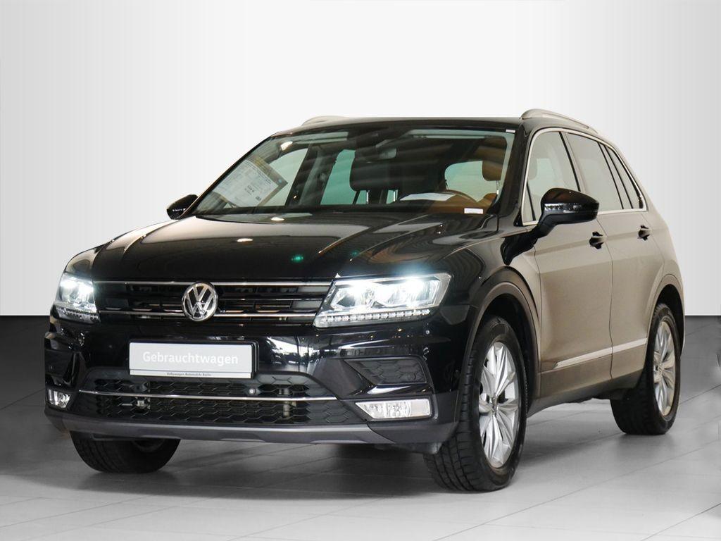 Volkswagen Tiguan 2.0TSI DSG Highline 4x4 STHZG LED LEDER, Jahr 2017, Benzin
