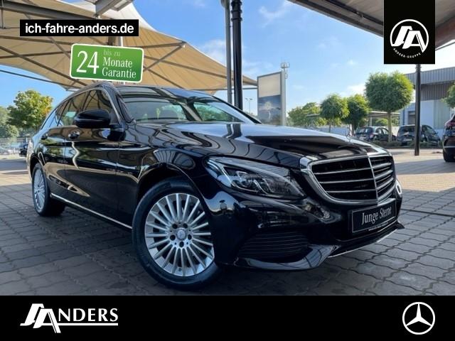 Mercedes-Benz C 180 T Exclusive+Navi+SHZ+LED+AHK+Pano+Spur-P., Jahr 2015, Benzin
