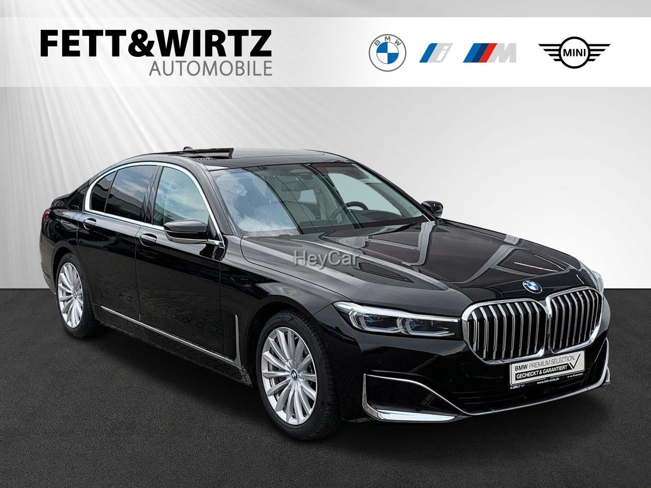 BMW 745e TV+ Massage elektr. GSD HUD Live Cockpit, Jahr 2020, Hybrid