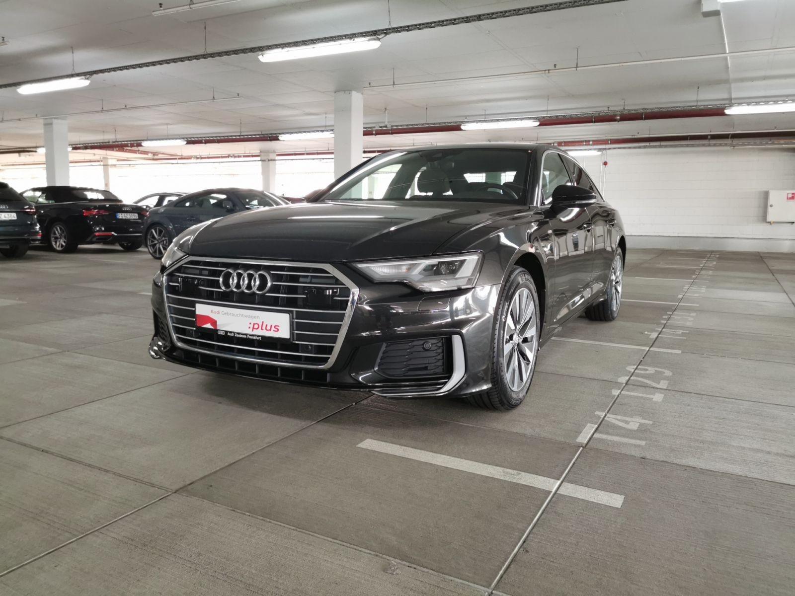 Audi A6 40 TDI S tronic S line AHK Navi LED PDC Sitzheizung, Jahr 2019, Diesel