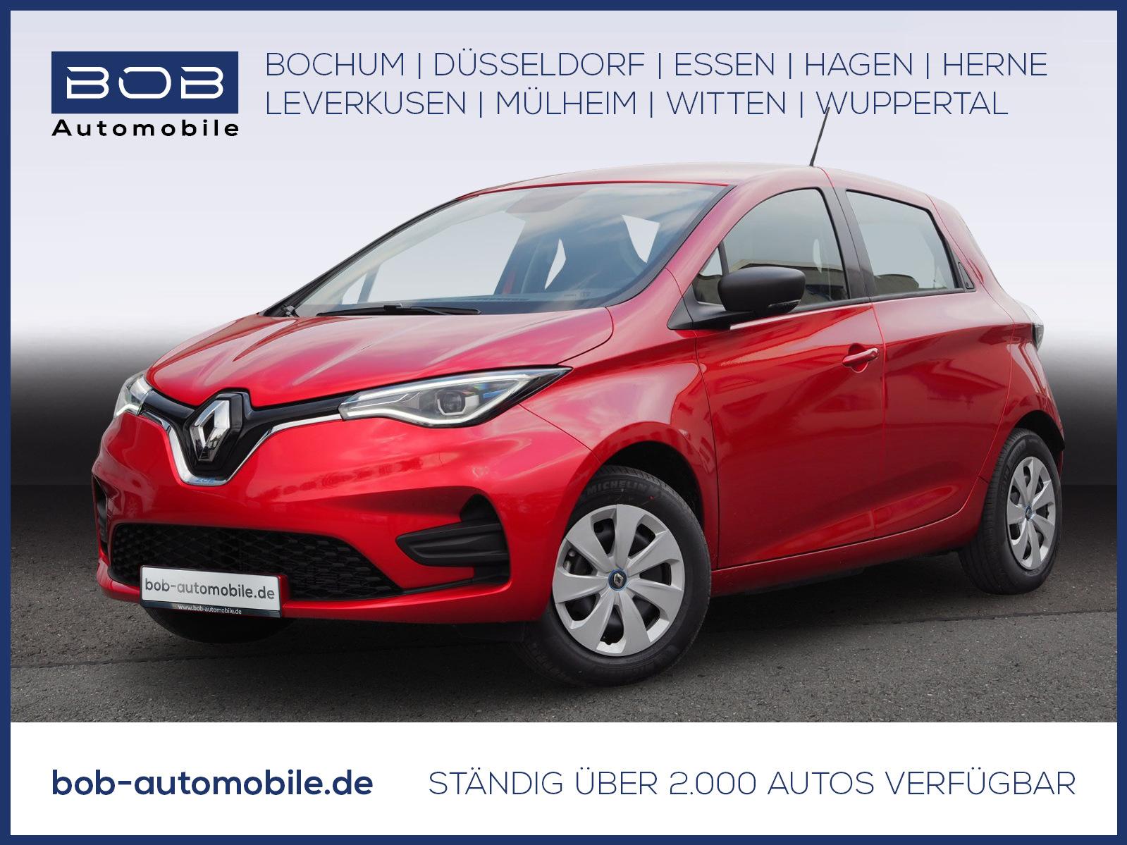 Renault ZOE LIFE Batteriemiete R110 Z.E. 40 SHZ LHZ BT, Jahr 2021, Elektro