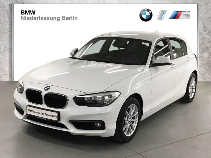 BMW 116d 5-Türer EU6 Aut. Navi Tempomat PDC Alu, Jahr 2018, Diesel