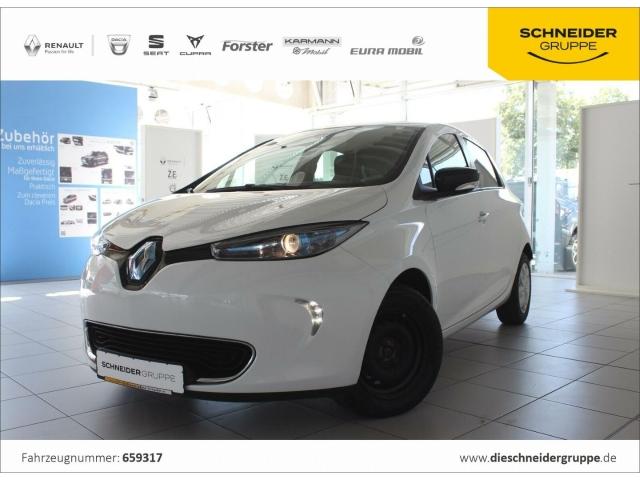 Renault ZOE Life EINPARKHILFE KLIMAAUTOMATIK TEMPOMAT, Jahr 2016, Elektro