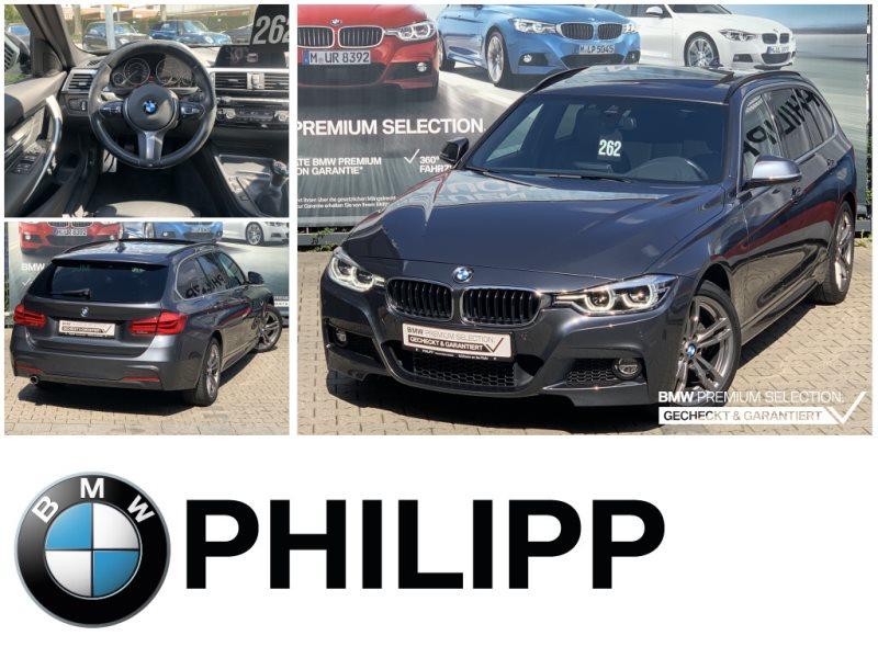 BMW 318d Tou M Sportpaket HUD HiFi LED Shz Pano, Jahr 2017, Diesel