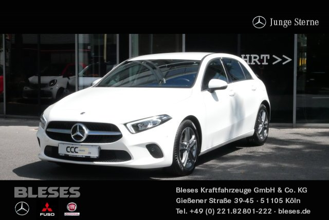 Mercedes-Benz A 180 Kompaktlimo Progressive +Navi+Klima+LED+, Jahr 2018, Benzin