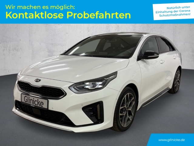 Kia Pro_cee'd 1.6 CRDi GT Line Navi LED DAB Schiebedach, Jahr 2019, Diesel