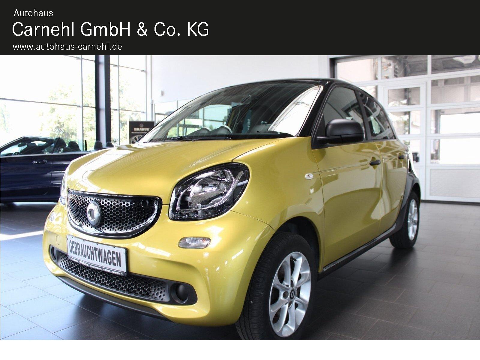 smart forfour 52KW Cool+Audio+Komfort+LMR+dkl.Scheiben, Jahr 2018, Benzin