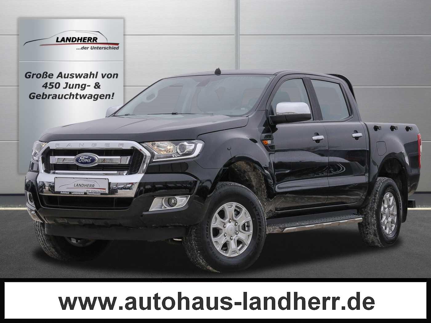 Ford Ranger 4x4 Automatik XLT DOKA // AHK, Jahr 2018, Diesel