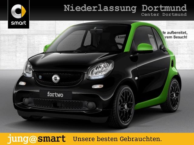 smart fortwo EQ 60kWed cool&Audio Sport SHZ Tempom Klima, Jahr 2017, Elektro