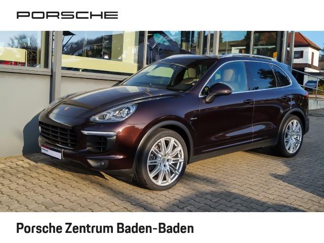 Porsche Cayenne Diesel Navi AD Dyn. Kurvenlicht e-Sitze Allrad Niveau El. Heckklappe LED-hinten, Jahr 2015, Diesel