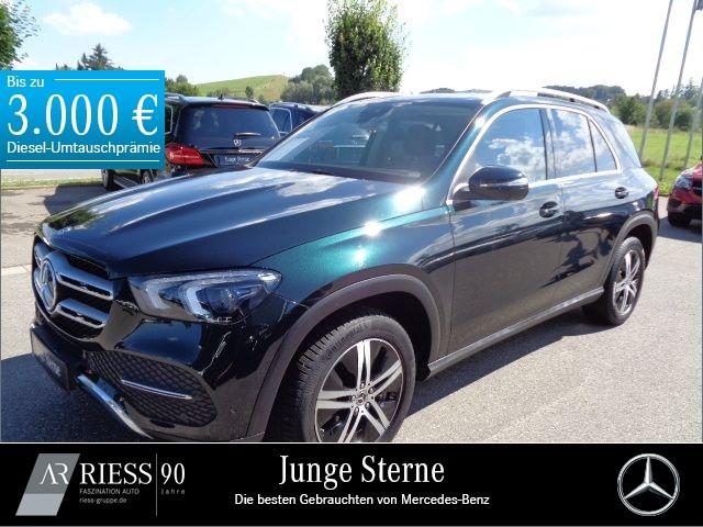 Mercedes-Benz GLE 450 4M Airmatic+Kamera+PTS+Navi+Memory+AHK, Jahr 2019, Benzin