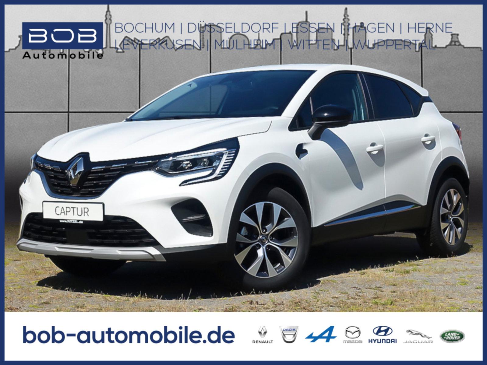 Renault Captur EXPERIENCE TCe 100 NAVI SHZ PDC LM-Felgen, Jahr 2020, Benzin