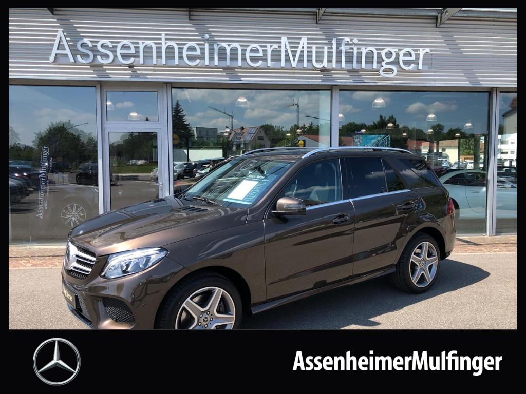 Mercedes-Benz GLE 400 AMG 4matic **COMAND/360°/AHK/Distronic, Jahr 2017, Benzin